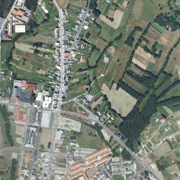 Mapa Satelite De As Pontes De Garcia Rodriguez Como Llegar Y Plano