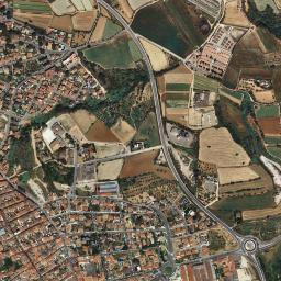 Caldes De Montbui Mapa.Mapa Satelite De Caldes De Montbui Como Llegar Y Plano