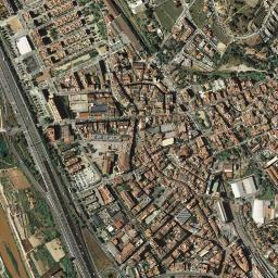 Mapa Molins De Rei.Mapa Satelite De Molins De Rei Como Llegar Y Plano