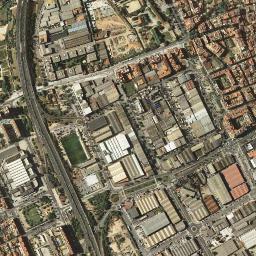 Cornella De Llobregat Mapa.Mapa Satelite De Cornella De Llobregat Como Llegar Y Plano