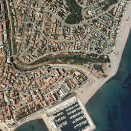 Mapa De L Hospitalet.Mapa Satelite De L Hospitalet De L Infant Como Llegar Y Plano