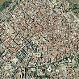 Mapa De Badajoz Capital.Mapa Satelite De Badajoz Como Llegar Y Plano