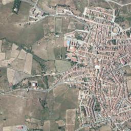 Zalamea La Real Mapa.Mapa Satelite De Zalamea La Real Como Llegar Y Plano