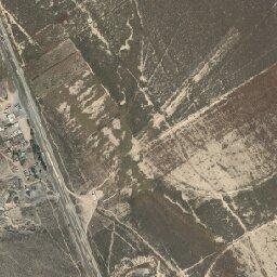 Mapa de El Camuco (La Leona) Galeana , Nuevo León