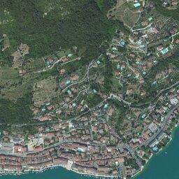 Cartina Lago Maggiore Stradale.Mappa Di Salo Con Cartina Geografica Stradale E Vista Satellitare