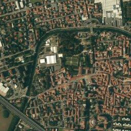 Cartina Satellitare Lombardia.Mappa Di Lainate Con Cartina Geografica Stradale E Vista Satellitare