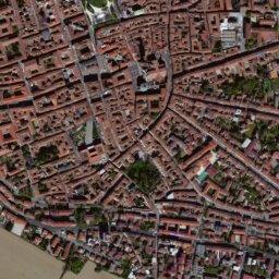 Cartina Satellitare Lombardia.Mappa Di Cremona Con Cartina Geografica Stradale E Vista Satellitare