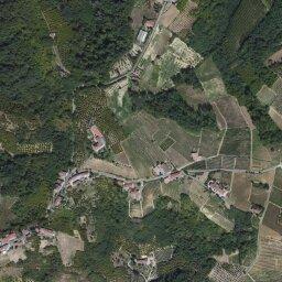 Bardonecchia Cartina Geografica.Mappa Di Tocco Con Cartina Geografica Stradale E Vista Satellitare