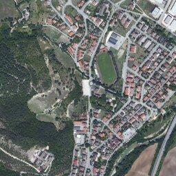 Cartina Geografica Provincia Di Pesaro Urbino.Mappa Di Acqualagna Con Cartina Geografica Stradale E Vista Satellitare