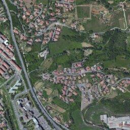 Stradale Cartina Geografica Toscana.Mappa Di Poggibonsi Con Cartina Geografica Stradale E Vista Satellitare