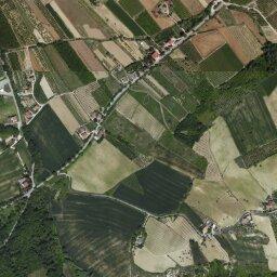 Marche Cartina Stradale.Mappa Di Montalto Delle Marche Con Cartina Geografica Stradale E Vista Satellitare