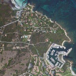 Cartina Di Uta Sardegna.Mappa Di Puntaldia Con Cartina Geografica Stradale E Vista Satellitare