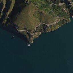 Cilento Cartina Geografica.Mappa Di Punta Germano Con Cartina Geografica Stradale E Vista Satellitare