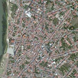 Cartina Satellitare Sardegna.Mappa Di Cabras Con Cartina Geografica Stradale E Vista Satellitare