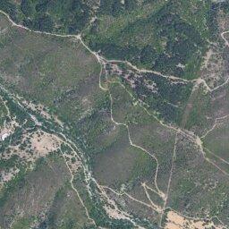Cartina Satellitare Sardegna.Mappa Di Salto Di Quirra Con Cartina Geografica Stradale E Vista Satellitare