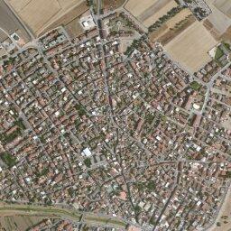 Puglia Cartina Stradale E Visione Satellitare.Mappa Di Sestu Con Cartina Geografica Stradale E Vista Satellitare